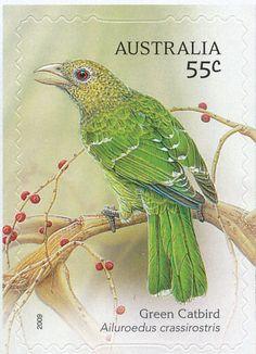 Birds on stamps: Australia Australië Australie