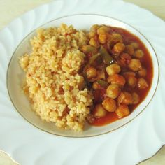 Abends stärkte sich Swanni mit einem türkischen Delight: Bulgur und Kichererbsen in einer Tomatensauce