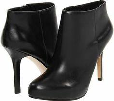 ShopStyle.com: Nine West - 7Fessup (Black Leather) - Footwear $59.99