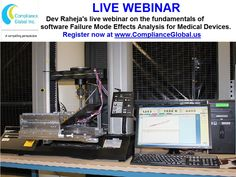 This webinar reviews the results of the FMEA as preview to device recalls, during adverse event analysis, and complaint investigations. FMEA may be very difficult and tedious for the case of complex systems which have multiple functions, thereby understanding by the entire staff is critical. Visit https://www.complianceglobal.us/product/700233