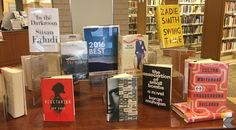 Kent Free Library Best of 2016 Book Display #kentfreelibrary #kfl #librarydisplay #bookdisplay #readersadvisory #bestbooksof2016