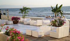 wedding reception on the beach   Modern Destination Weddings: Grand Velas Riviera Nayarit