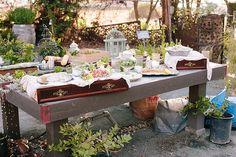 A Secret Garden Styled Wedding, www.zestitup.com
