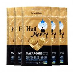 Hail Merry | Caramel Sea Salt Macaroons - These are perfect for long summer road trips. They are so tasty!