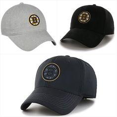 72334e291af Boston Bruins NHL Adult Team Logo Adjustable Pick Color Hats Hat Cap Boston  Bruins Hockey