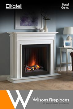 Shown in White finish with a high gloss black chamber, the contemporary Milan electric suite with its bold contrast, will make a striking centerpiece for any living area. Suitable for flat wall fixing this electric suite does not require a chimney. Home Fireplace, Living Room With Fireplace, Fireplace Design, Living Room Decor, Living Area, 1930s Fireplace, Alcove Ideas Living Room, Front Room Decor, Electric Fireplace Suites