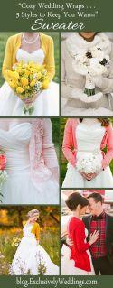 Cozy Wedding Wraps - 5 Styles to Keep You Warm - Sweater