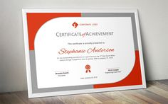 Certificate of Participation Template MS Word