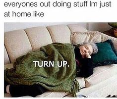 Turn up (the tv) •
