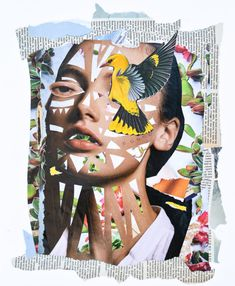 Veerle Symoens Collage Exhibition | Trendland Online Magazine Curating the Web since 2006