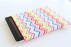 Chevron Rainbow  iPad Case