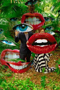 Kath & Harold prenup photoshoot.  Styling and set design by RabbitHole Creatives