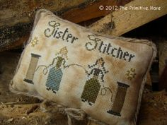 Sister Stitcher  freebie from The Primitive Hare