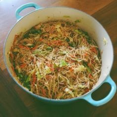 I always feel really cool when I make pancit, probably because not many people other than Filipino moms know how to cook pancit. It's lik...