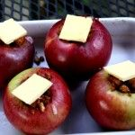 Cinnamon Baked Apples with Pecans and Pears