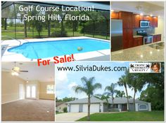 2343 Glenridge Spring Hill Florida Golf Course Home for Sale with Pool by Spring Hill Realtor Silvia Dukes