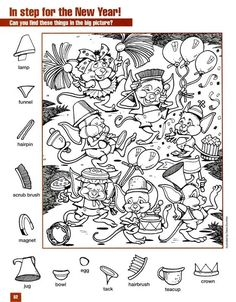 Hidden Object Puzzles, Hidden Picture Puzzles, Hidden Objects, Find Objects, Lds Coloring Pages, Coloring Books, Kindergarten Activities, Activities For Kids, Hidden Pictures Printables