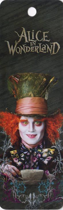 *MAD HATTER ~ Alice in Wonderland ~ 2010, Tim Burton, Starring: Johnny Depp