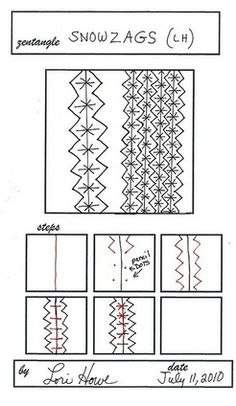 Zentangle Tutorials