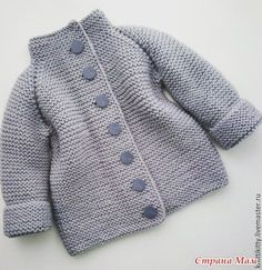 Baby Knitting Patterns Sweter Clothing for girls, handmade. Knitting For Kids, Baby Knitting Patterns, Crochet For Kids, Baby Patterns, Crochet Baby, Knit Crochet, Crochet Patterns, Knitted Baby Cardigan, Cardigan Pattern