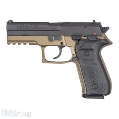 Rex Zero 1 by Arex, 9mm caliber Pistol, FDE