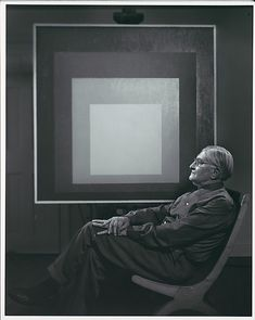 Josef Albers, photo by Yousuf Karsh