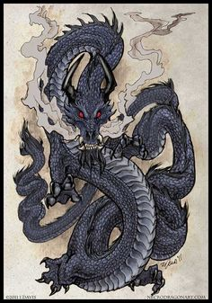 black dragon dragon fantasy art