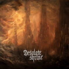 Desolate Shrine The Heart of the Netherworld, released 13 January 2015 For the Devil and His Angels Black Fires of God Desolate Shrine Death in You We Dawn Anew Leviathan The Heart of the Netherworld Metal Albums, Black Fire, Death Metal, Metal Bands, Looking Up, Metal Art, Cover Art, The Darkest, Artwork