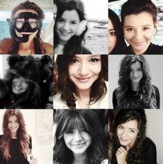 Eleanor Calder :) wait is it just me who thinks Eleanor in the bottom middle pic look like old miley/hannah montana?!?