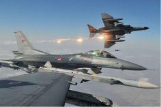 Ζεύγος τουρκικών F-16«βομβάρδισε» εικονικά το Φαρμακονήσιπραγματοποιώντας υπέρπτηση το πρωί τηςΠέμπτης..... Τα δύο τουρκικά F-16 τα...