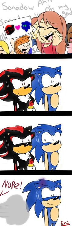 Sonadow? Comic by NicoleDoodle64