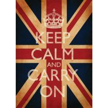 Keep Calm and Carry On (Union Jack, British flag, vintage) Keep Calm Carry On, British Decor, British Style, Keep Calm Generator, Decopage, Before Midnight, Patriotic Decorations, Wall Decorations, All Things