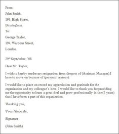 Professional Letter Template Word Business Letter Template For Word Sample Business Letter, Business Letter Template 43 Free Word Pdf Documents Free, 21 Best Formal Letter Templates Free Sample Example Format, How To Write A Resignation Letter, Resignation Sample, Professional Resignation Letter, Letter After Interview, Interview Questions, Letter Writing Template, Letter Templates, Professional Letter Template