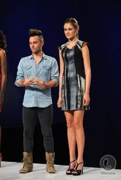 Anthony Ryan Auld- Project Runway All Stars great printed dress with pockets! Couture Fashion, Runway Fashion, Fashion Outfits, Project Runway, Season 2, My Outfit, All Star, Challenges, Designer Clothing