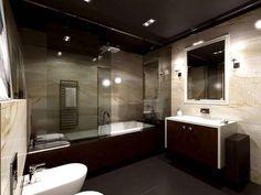 piękna łazienka... i jeszcze to światło punktowe... pięknie :)