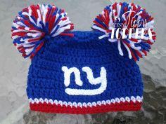 Ny Giants Crochet Afghan Pattern : New York Giants Infinity Crochet Scarf New York Giants ...