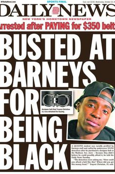 Man Detained for Shopping at Barneys While Black -- The Cut