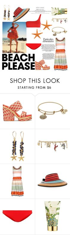 """""""sun"""" by sofizophe ❤ liked on Polyvore featuring Tory Burch, Alex and Ani, Catherine Weitzman, Forever 21, Missoni, Missoni Mare, Karla Colletto, AERIN, STELLA McCARTNEY and BeachPlease"""