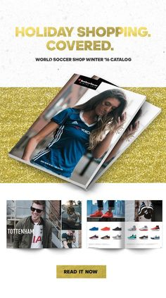 WorldSoccerShop's 2016 Winter Digital catalog is online now! Sit back, relax & shop for holiday gift ideas for the soccer fan or player in your life! WorldSoccerShop.com