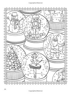 Free 92 Page Holiday Coloring Book | Coloring books, Holidays and ...