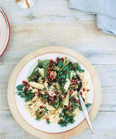 Quinoa Salad with Pomegranate by Bill Granger