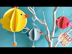 Easy Bauble Chick Ornaments DIY - Easter DIY - Spring Decor DIY - YouTube