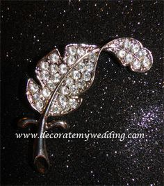 Wedding Decorations - Crystal Boutonniere Cale