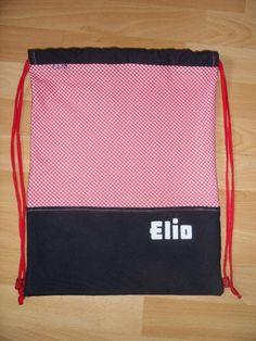 FushuFana: Bolsa-mochila para la ropa sucia