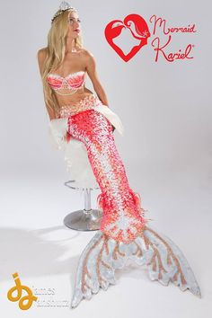 Facebook Gorgeous Red Tail by Mermaid Kariel! must have go check her out @www.mermaidkariel.com