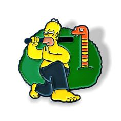 We've restocked our first pin design. It's time to begin your training with our Whacking Day Training pin!Whacking Day Training measures tall inches) with dual posts and metal clutches. Add it to your pin collection today! Cool Pins, Homer Simpson, Pin And Patches, Hat Pins, Pin Badges, Lapel Pins, Pin Collection, Little Girls, Cute