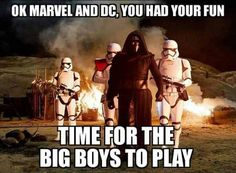 Haha xD well marvel owns the Star Wars comics but that's a different story cx