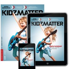 """KidzMatter Magazine - Bob Singleton, our head worship guy at God's Kids Worship, wrote the article """"Simple Worship,"""" that is the featured article on the cover of the July/August 2014 issue of """"KidzMatter,"""" the kids ministry magazine."""