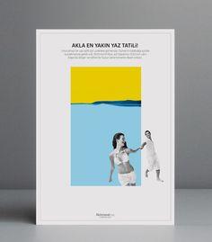 Richmond Hotels Poster Designs by Volkan Babaotu, via Behance