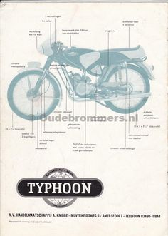 Typhoon Holland Bike, 50cc, Mopeds, Do You Remember, Motorbikes, The Past, Sport, Board, Drawing Drawing